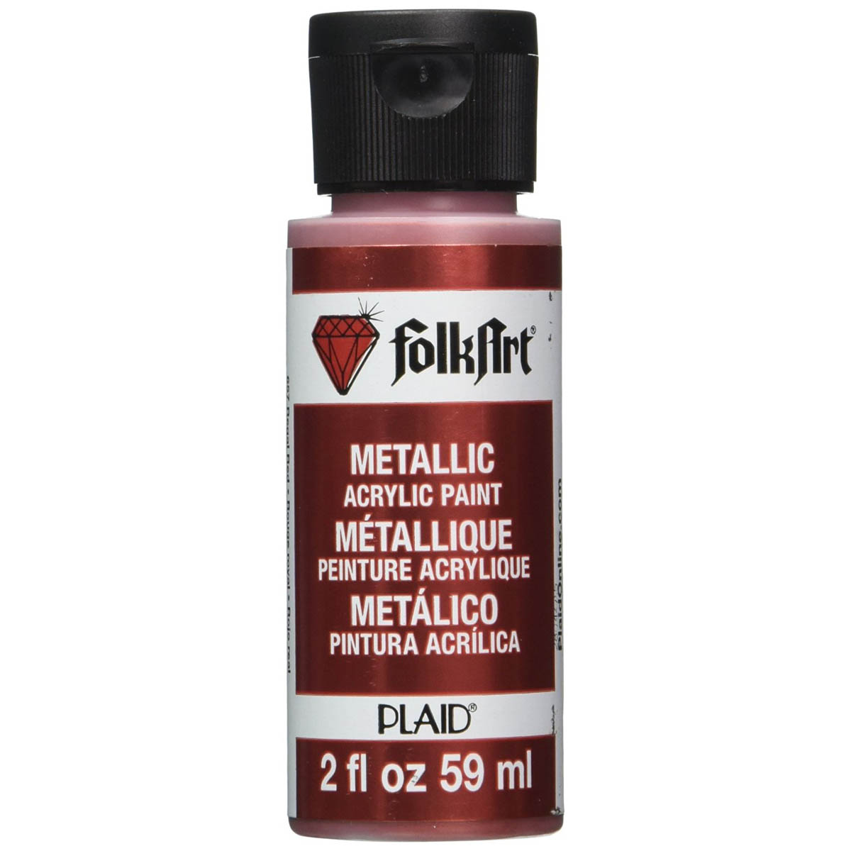 FolkArt ® Metallics - Regal Red, 2 oz.