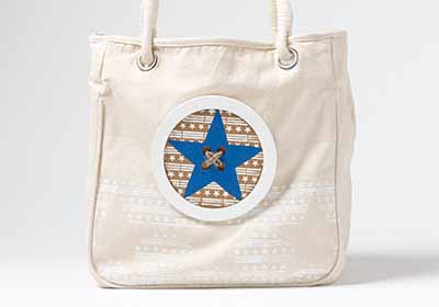 Stars Natural Tote Bag