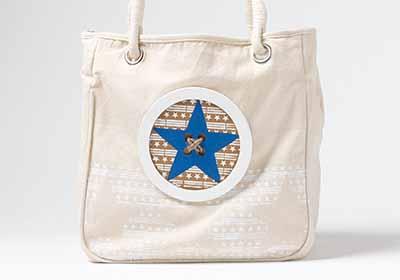 Stars Natural Tote Bag