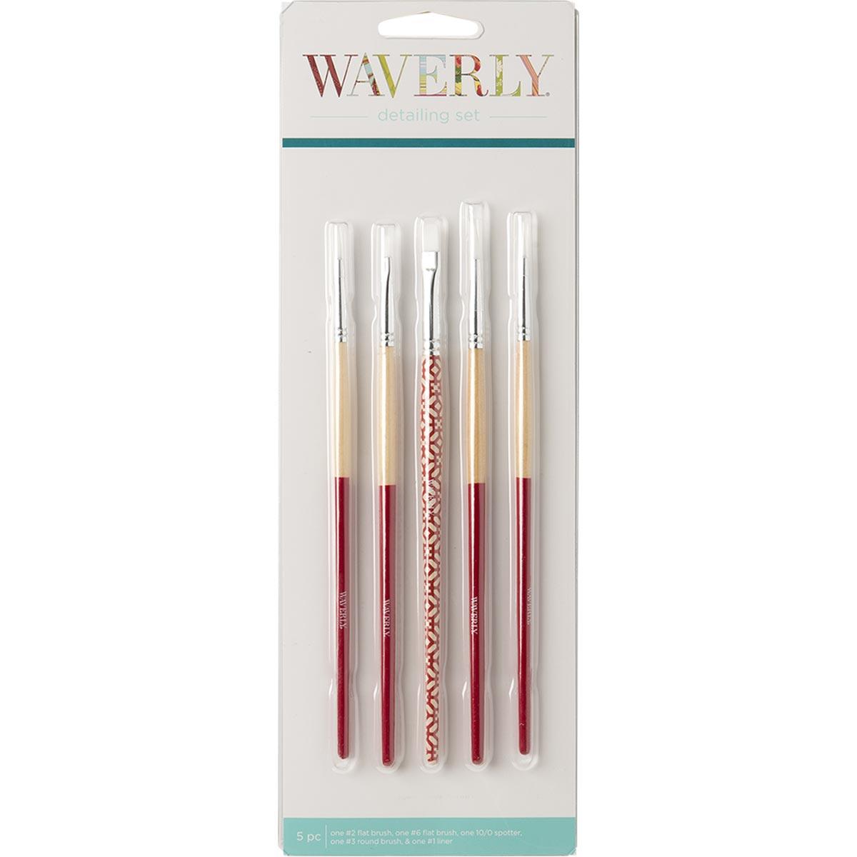 Waverly ® Brushes - Detail Set, 5 pc.