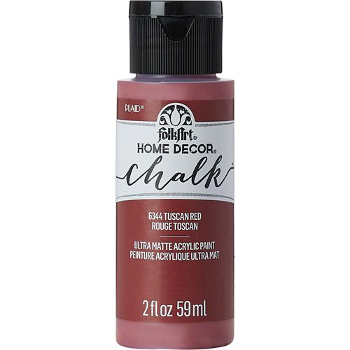FolkArt ® Home Decor™ Chalk - Tuscan Red, 2 oz.