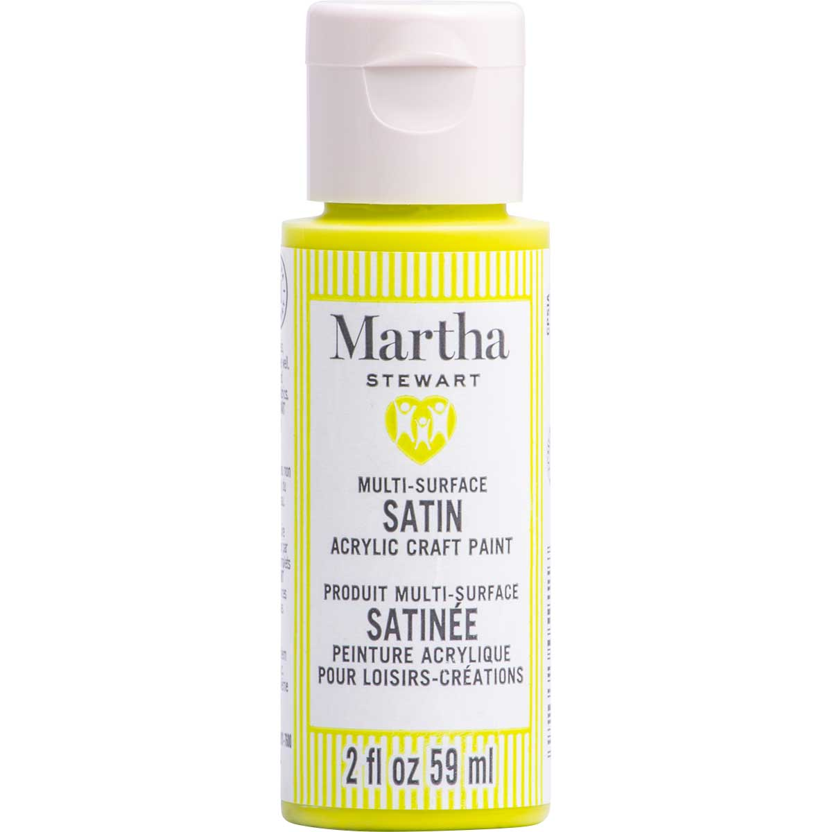 Martha Stewart ® Multi-Surface Satin Acrylic Craft Paint CPSIA - Caterpillar, 2 oz. - 5911
