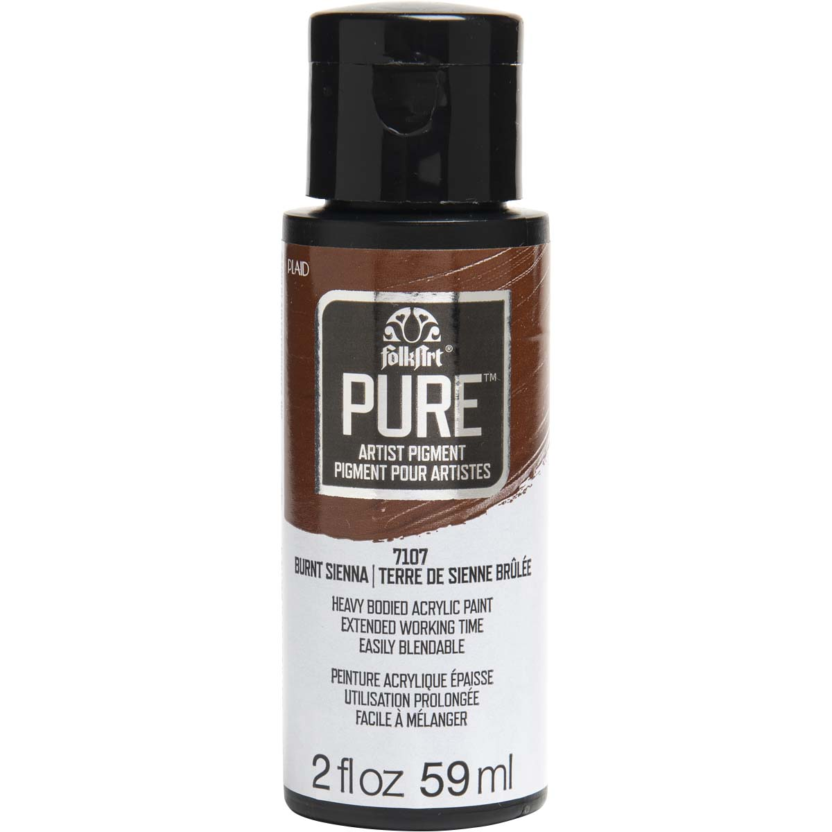 FolkArt ® Pure™ Artist Pigment - Burnt Sienna, 2 oz. - 7107