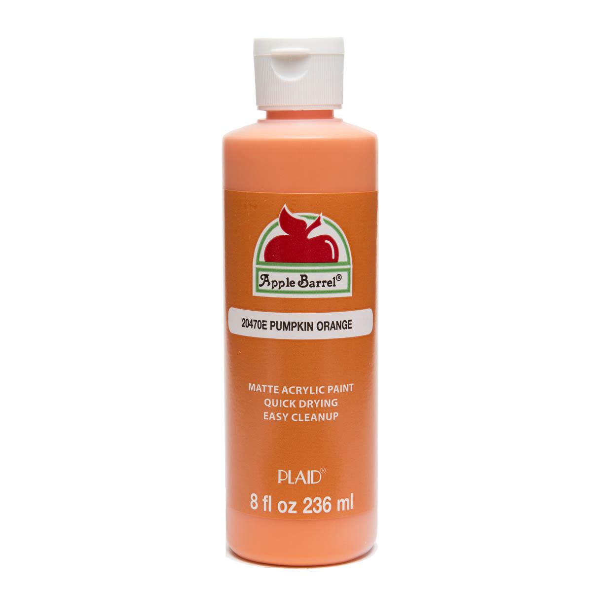 Apple Barrel ® Colors - Pumpkin Orange, 8 oz. - 20470