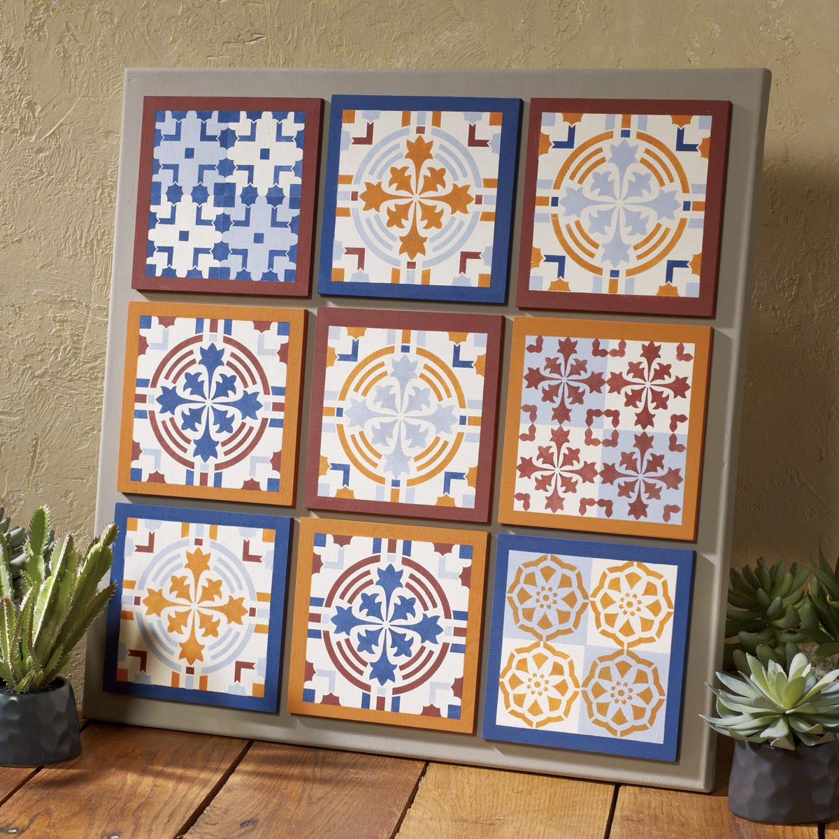 FolkArt ® Painting Stencils - Tavalera Tile