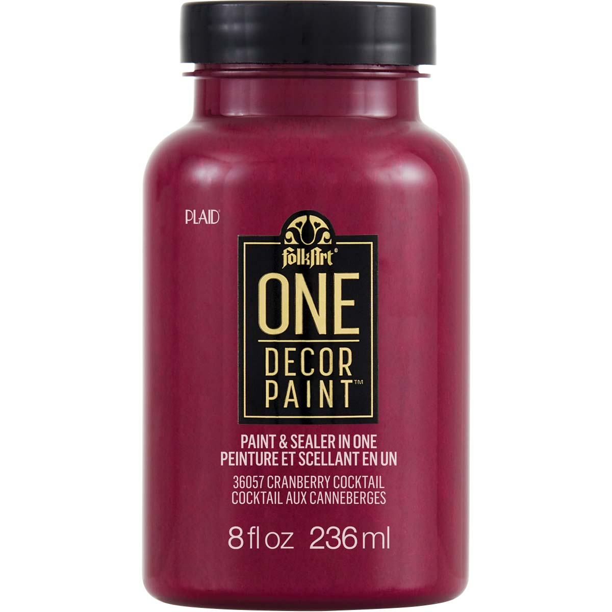FolkArt ® One Décor Paint™ - Cranberry Cocktail, 8 oz. - 36057