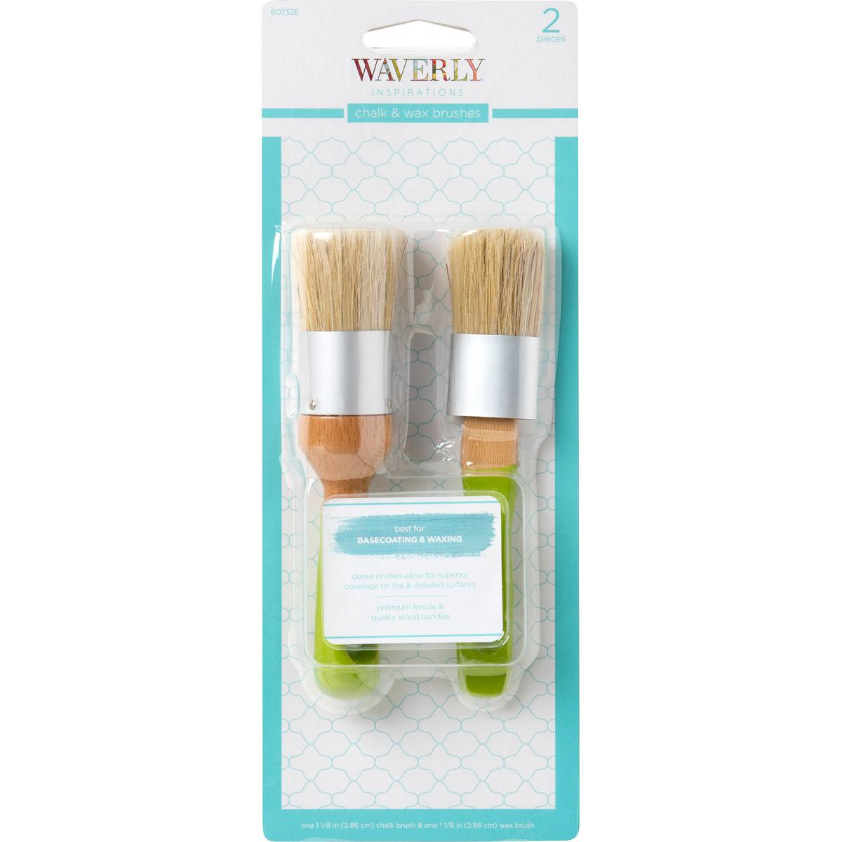 Waverly ® Inspirations Brushes - Chalk & Wax Combo