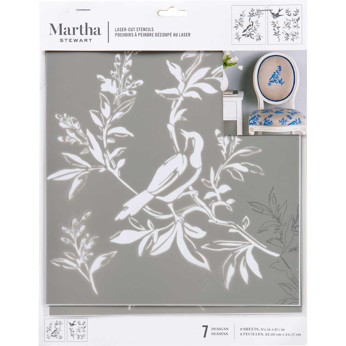Martha Stewart® Laser-Cut Stencil - Chinoiserie