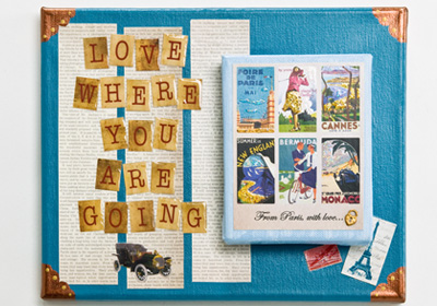 Love Where You're Going Canvas