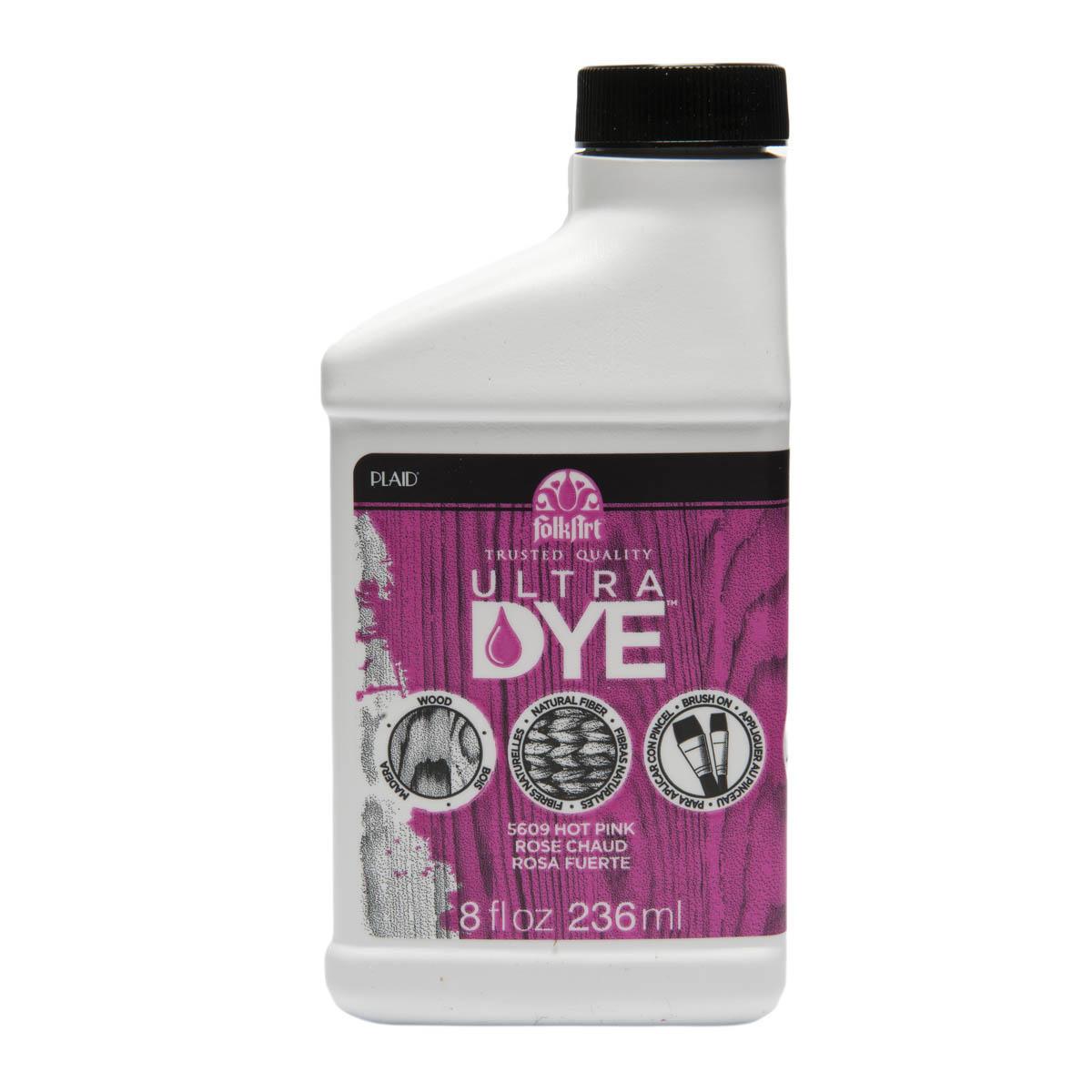 FolkArt ® Ultra Dye™ Colors - Hot Pink, 8 oz. - 5609