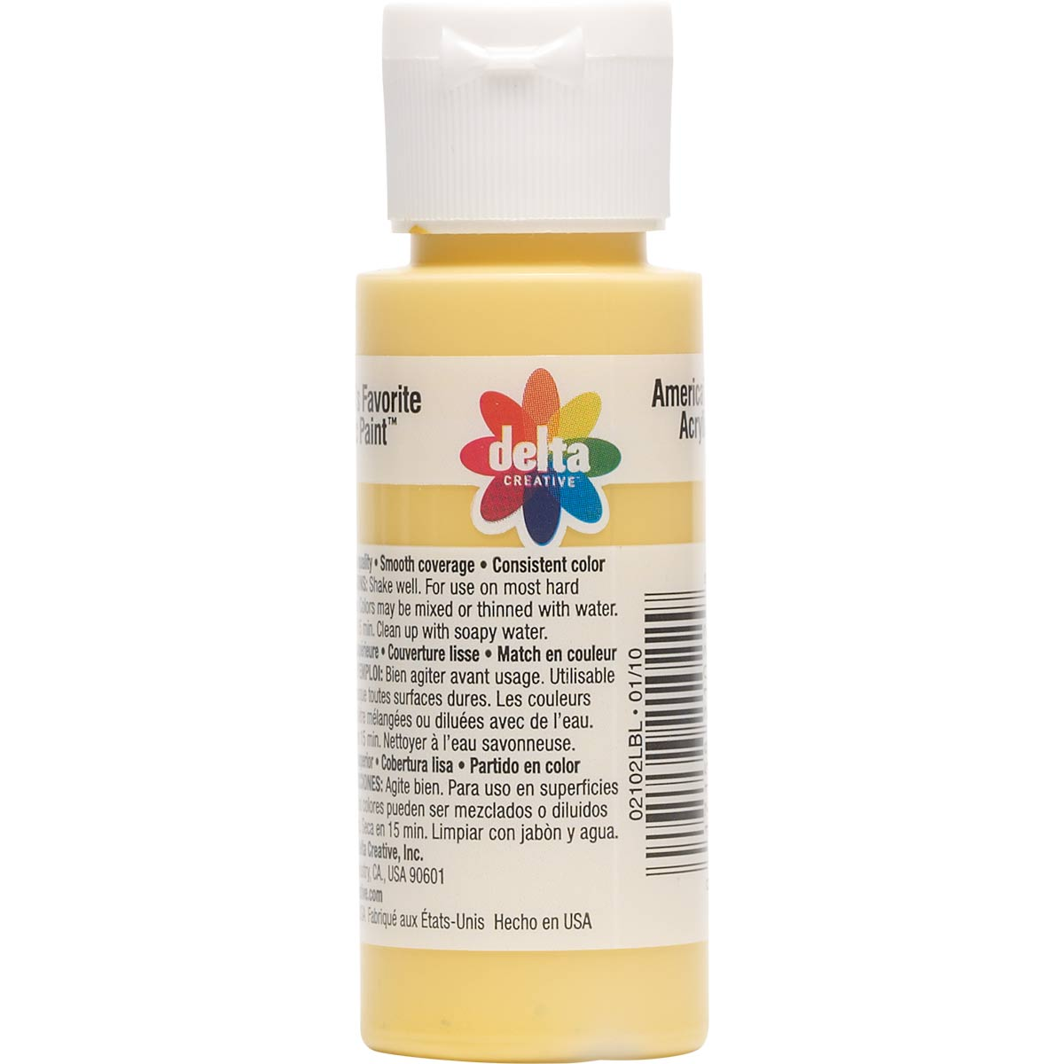 Delta Ceramcoat ® Acrylic Paint - Butter Yellow, 2 oz. - 021020202W