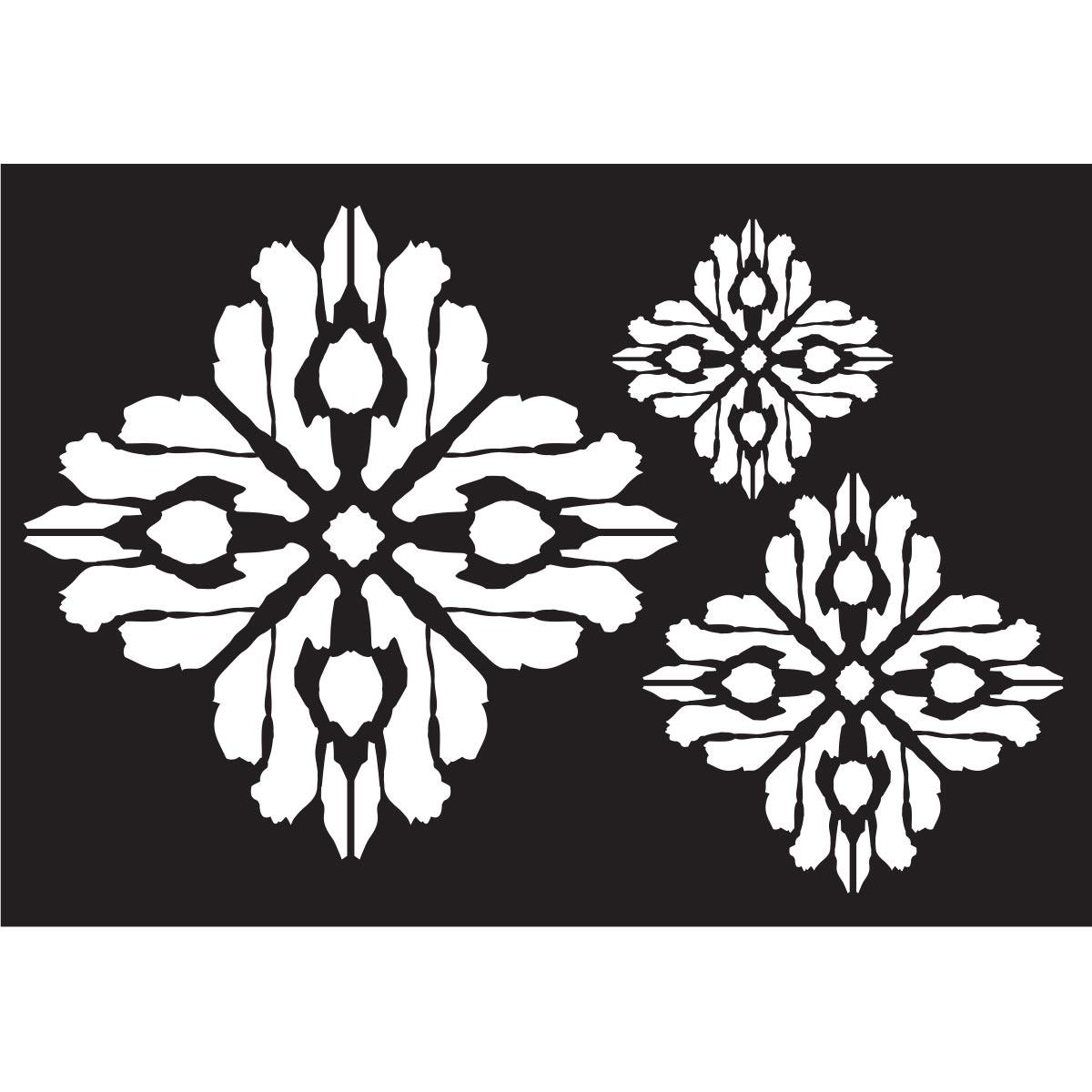FolkArt ® Painting Stencils - Ikat Motif