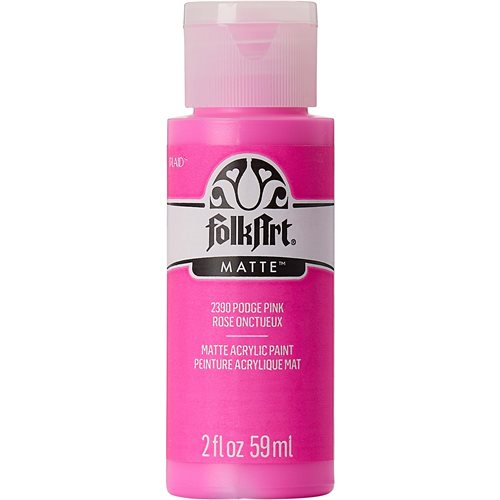 FolkArt ® Acrylic Colors - Podge Pink, 2 oz.