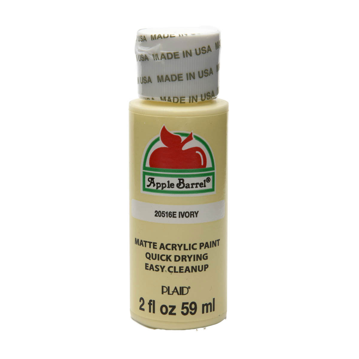 Apple Barrel ® Colors - Ivory, 2 oz.