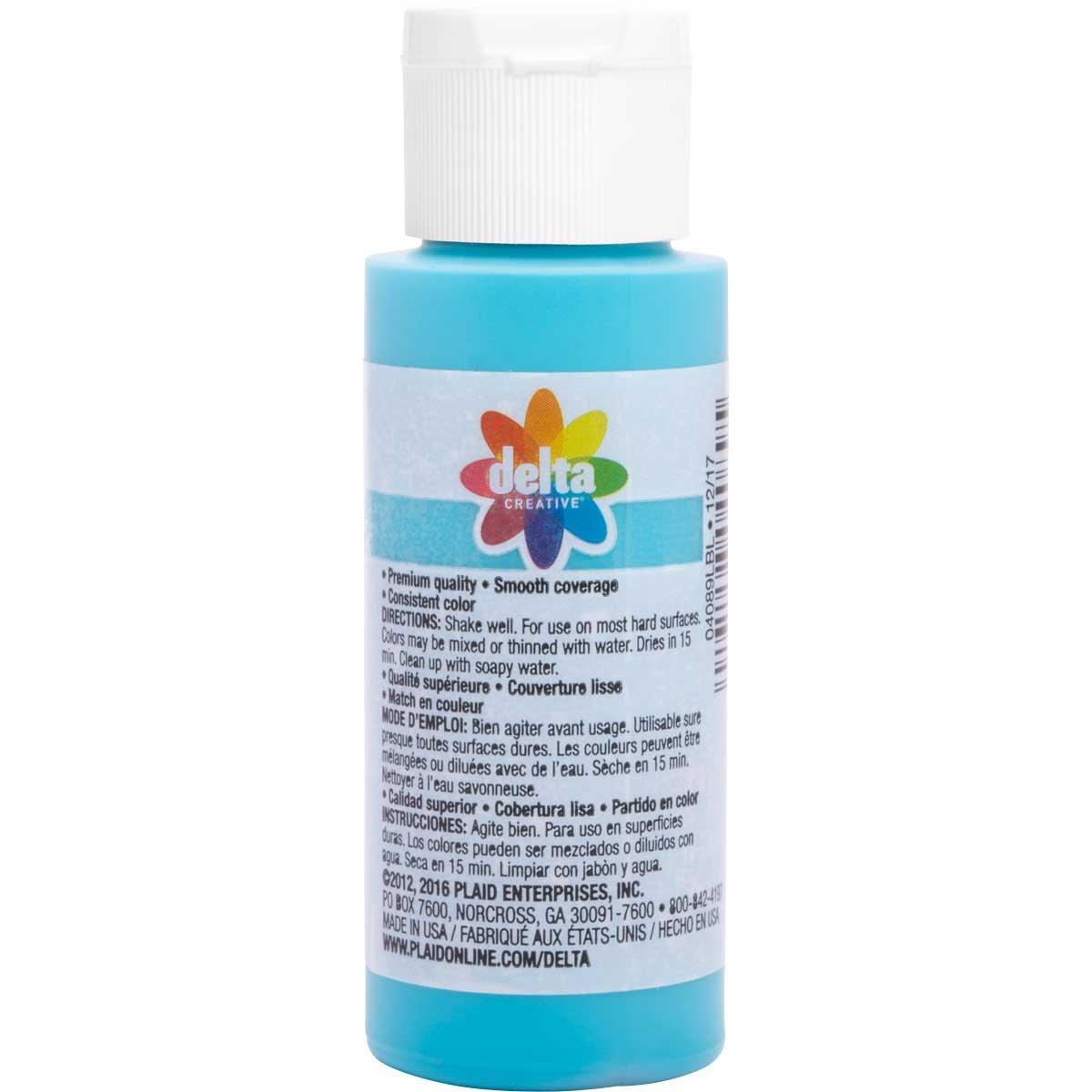 Delta Ceramcoat ® Acrylic Paint - Lost Lagoon, 2 oz.
