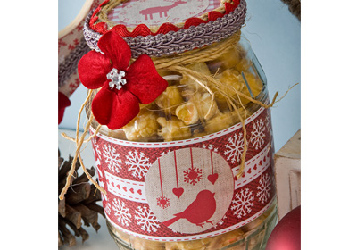 Jar of Treats for the Holidays