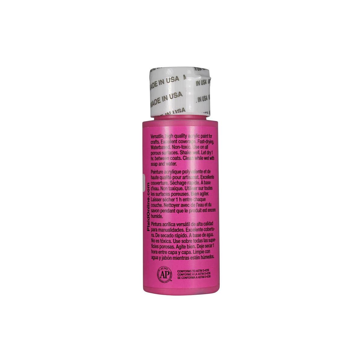 Apple Barrel ® Colors - Punk Pink, 2 oz.