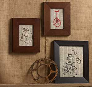 Four Bikes Canvas