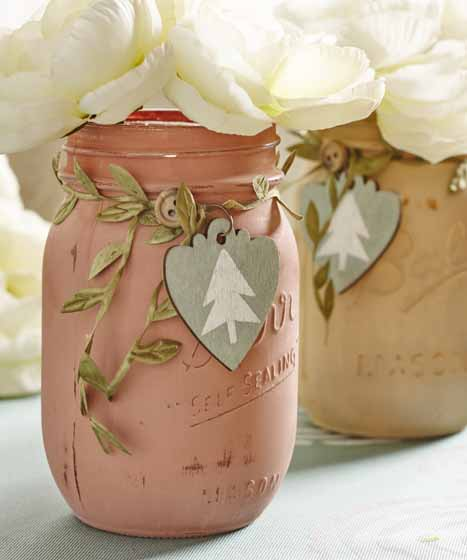 DIY Baby Shower Mason Jar Favors