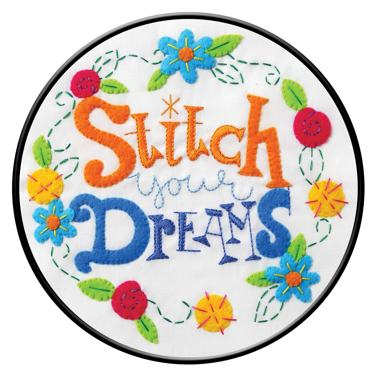 Bucilla ® Stamped Embroidery - Stitch Your Dreams