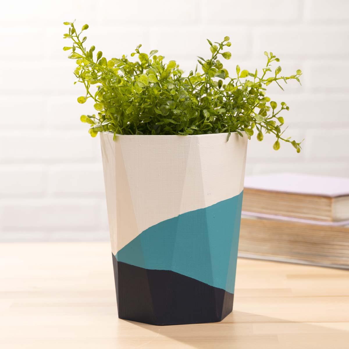 Plaid ® Wood Surfaces - Wood Vase - 56713