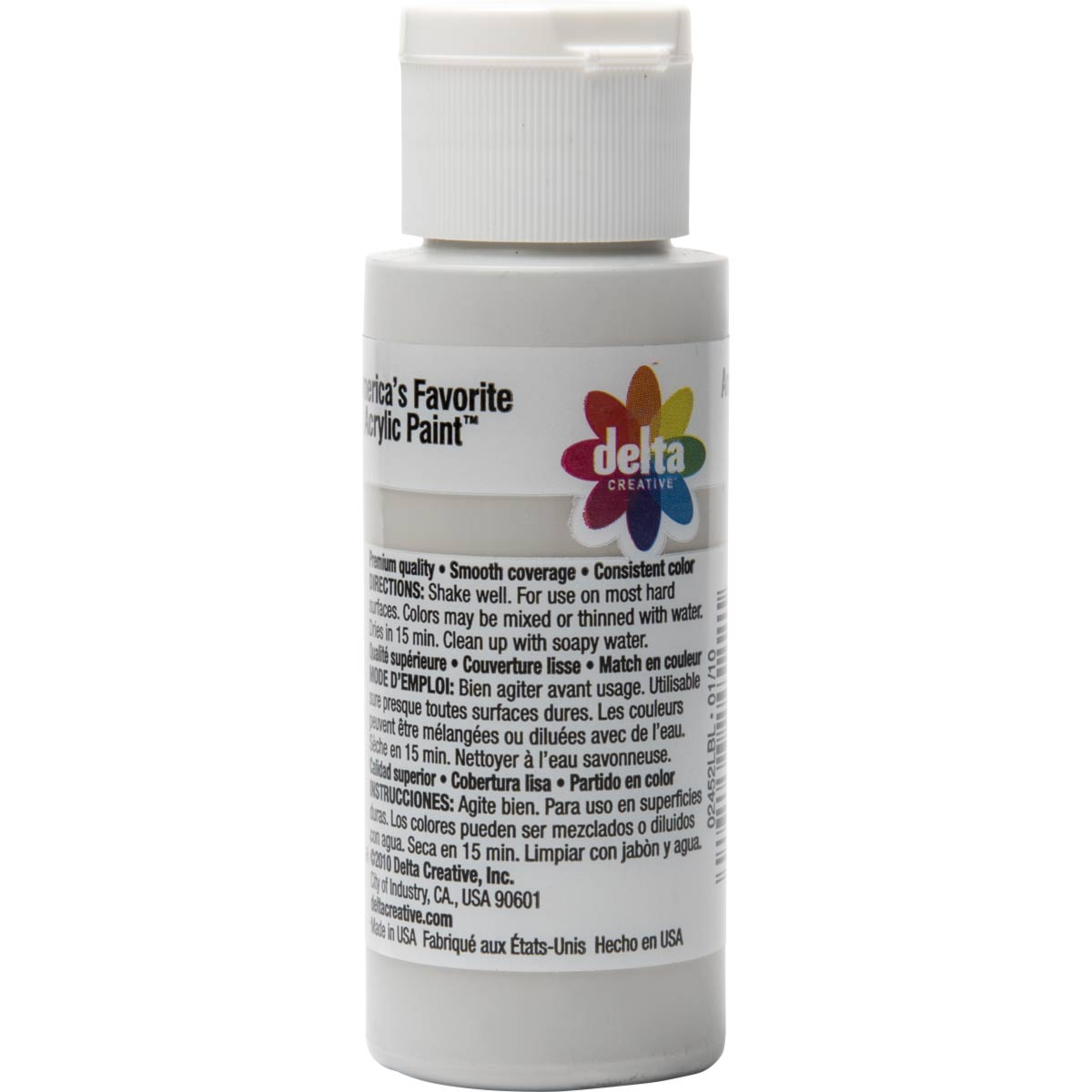 Delta Ceramcoat ® Acrylic Paint - Drizzle Grey, 2 oz. - 024520202W