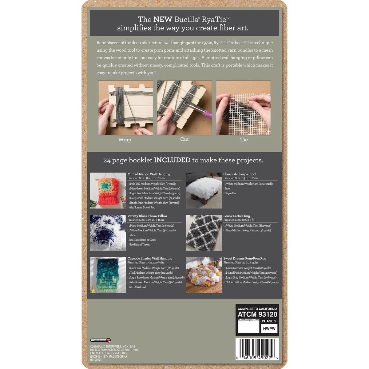Bucilla ® RyaTie™ Tool Kit