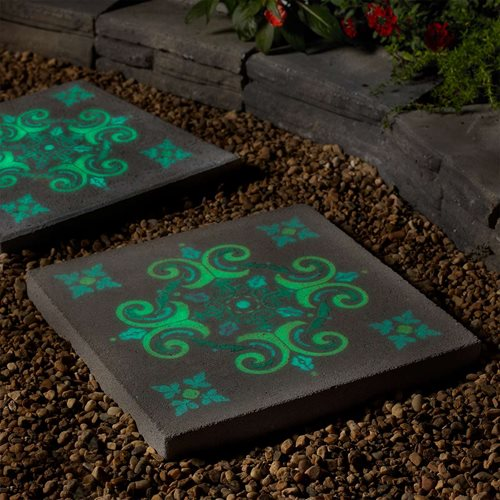 Glow-in-the-Dark Stepping Stone
