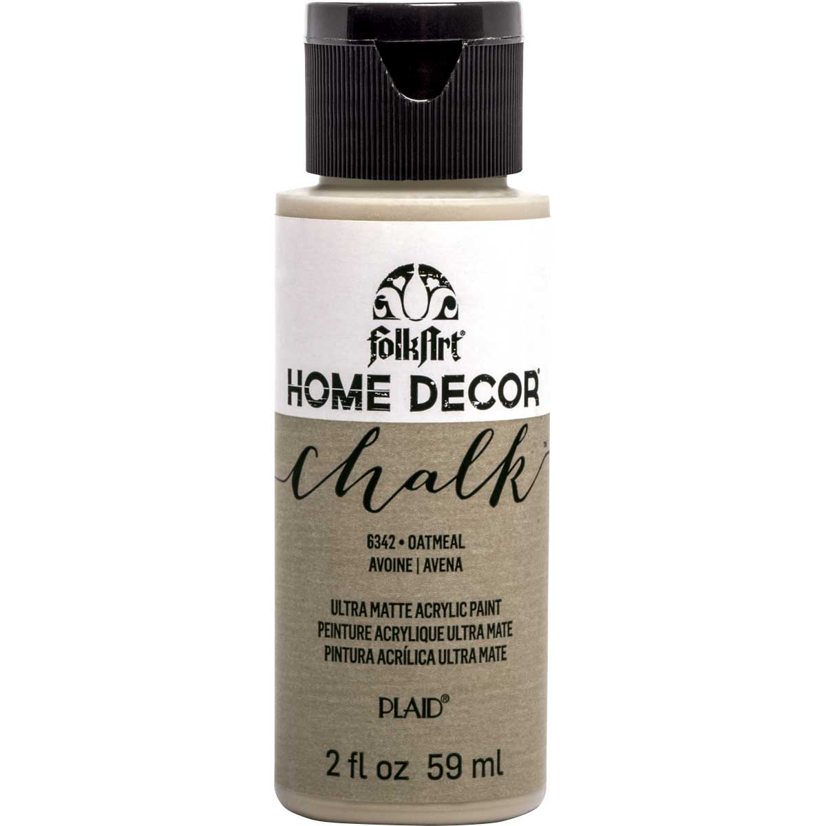 FolkArt ® Home Decor™ Chalk - Oatmeal, 2 oz.