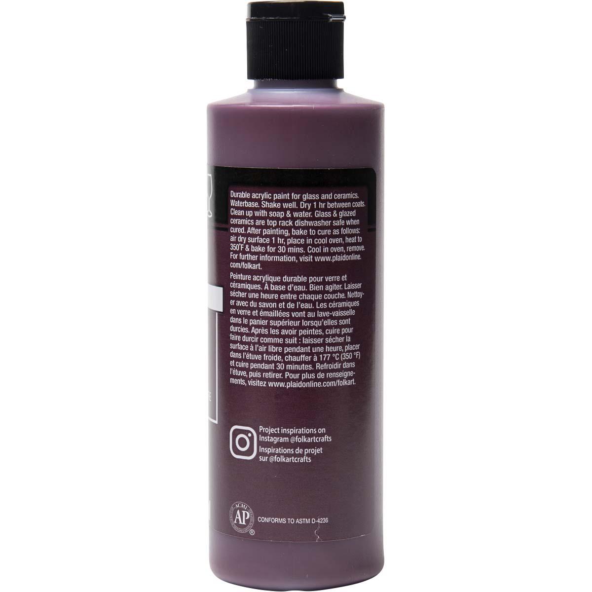 FolkArt ® Enamels™ - Berry Wine, 8 oz. - 7150