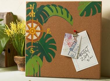 Decorative Cork Board