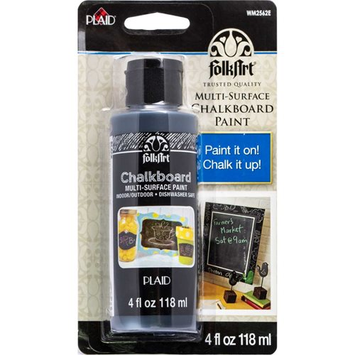 FolkArt ® Chalkboard Multi-Surface Paint - Black, 4 oz. - WM2562E