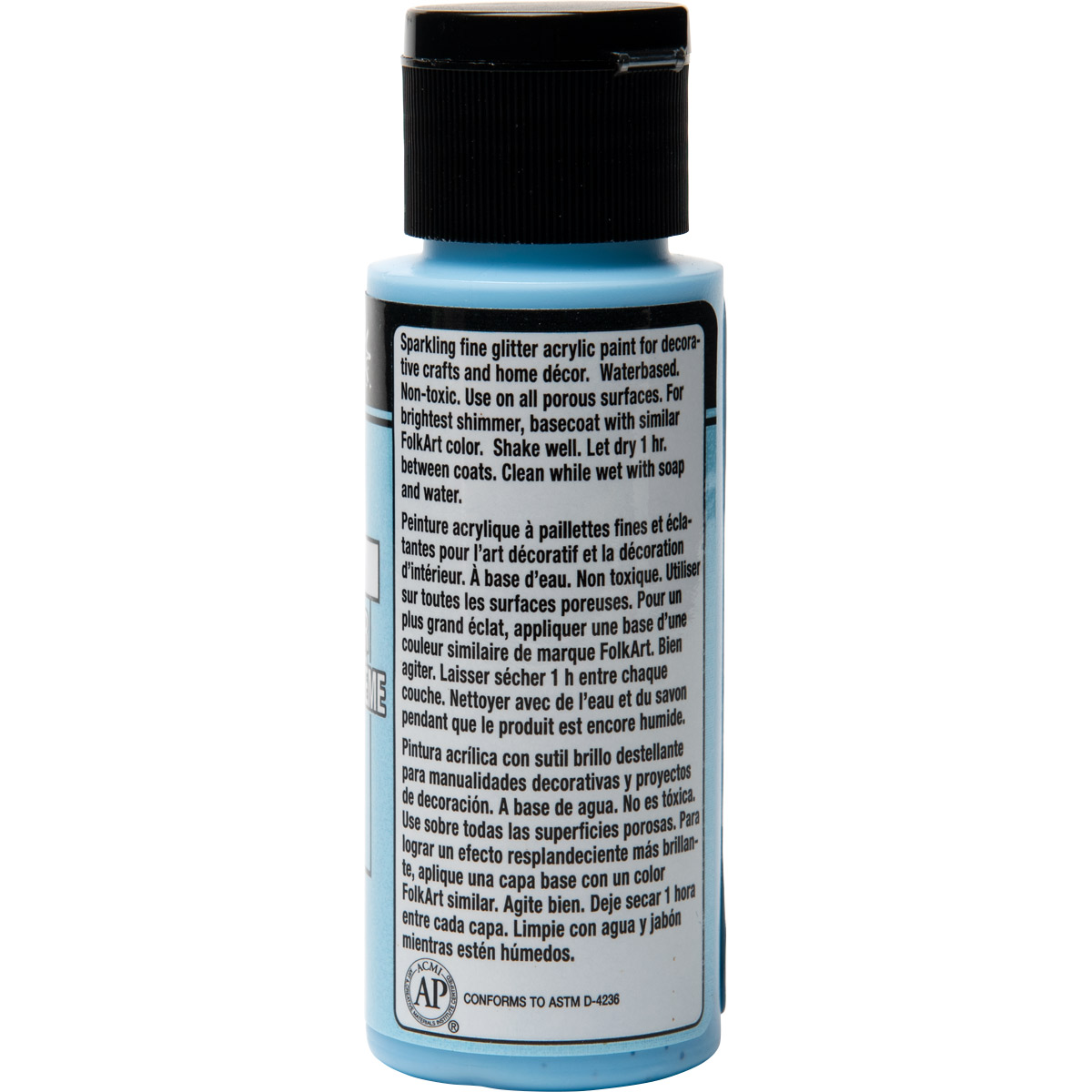 FolkArt ® Extreme Glitter™ - Blue Bling, 2 oz.