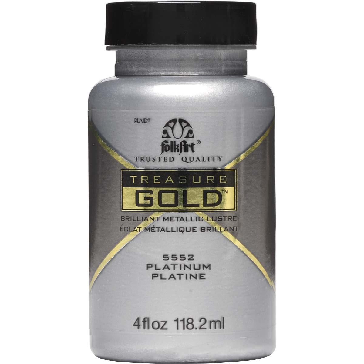 FolkArt ® Treasure Gold™ - Platinum, 4 oz. - 5552