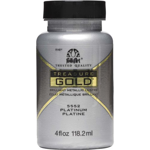 FolkArt ® Treasure Gold™ - Platinum, 4 oz. - 5552