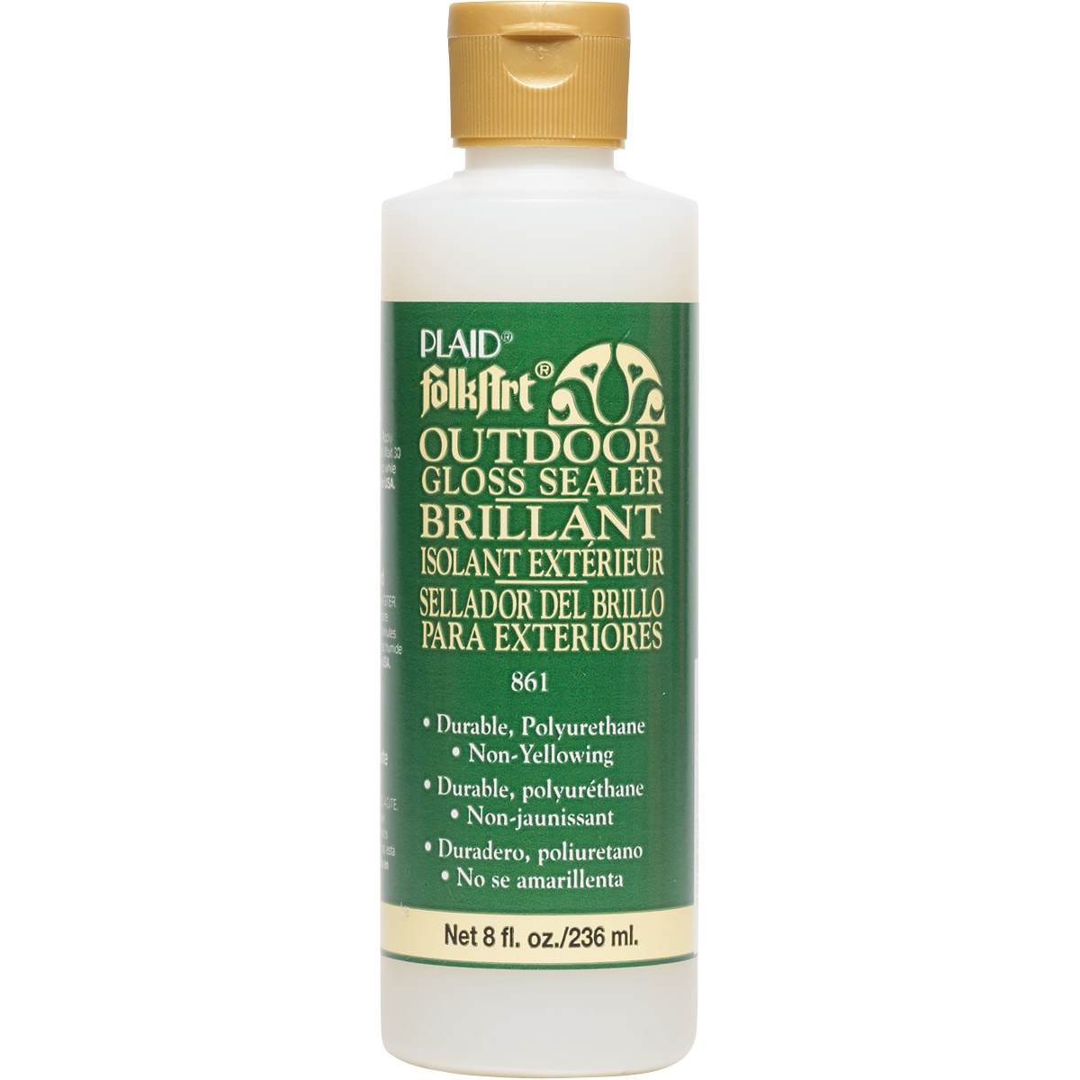 FolkArt ® Finishes - Outdoor Sealer - Gloss, 8 oz. - 861