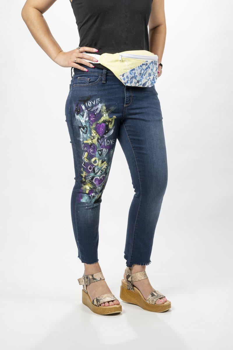FolkArt Multi-Surface Graffiti Jeans