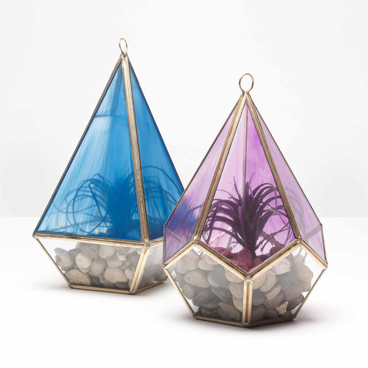 Stained Glass Terrariums