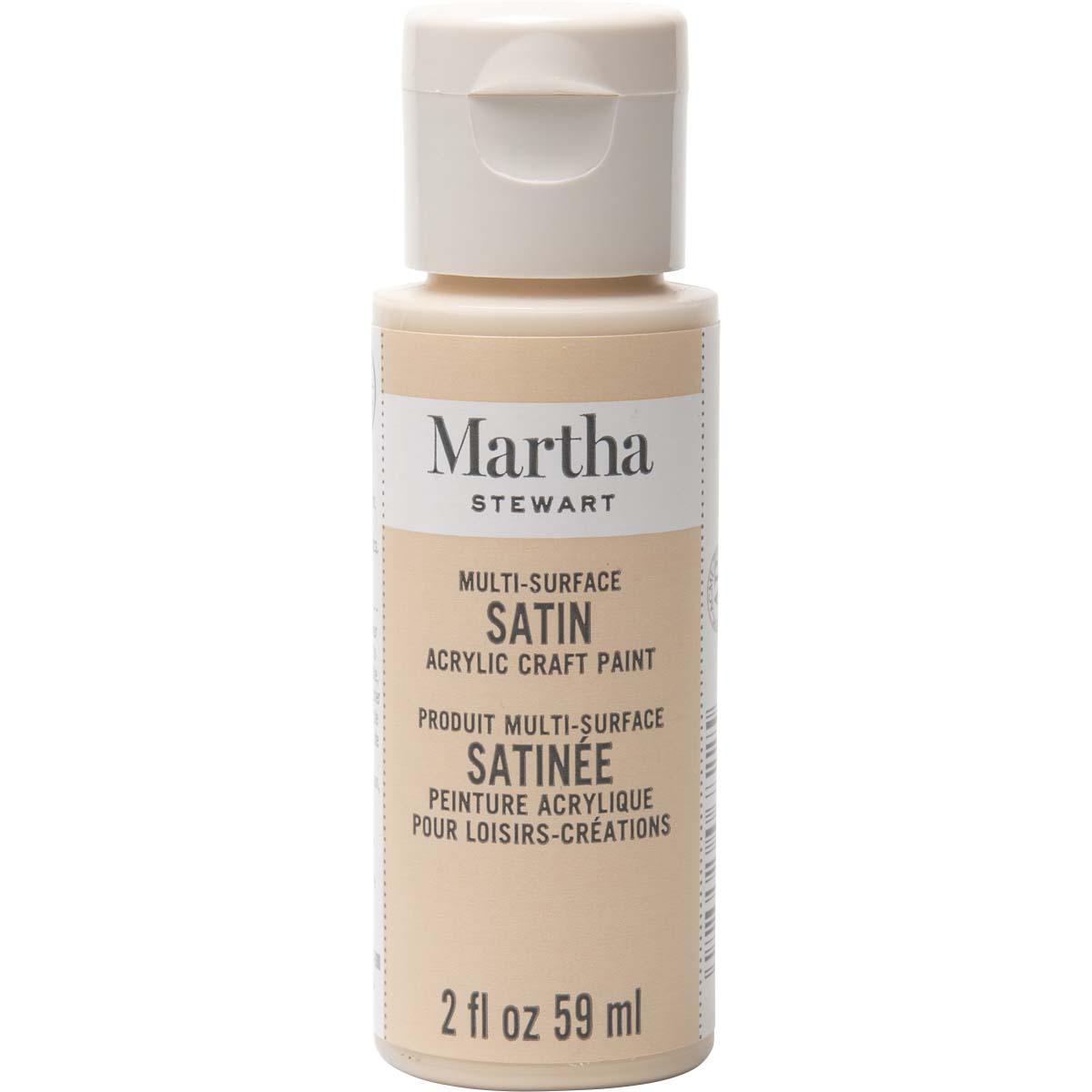 Martha Stewart® 2oz Multi-Surface Satin Acrylic Craft Paint - Sandcastle