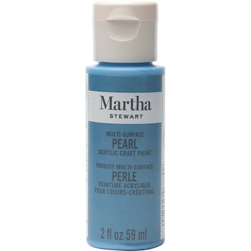Martha Stewart ® Multi-Surface Pearl Acrylic Craft Paint - Splash, 2 oz. - 32969CA