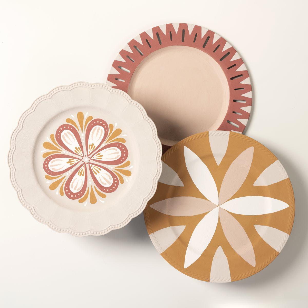 Terra Cotta Decorative Plates