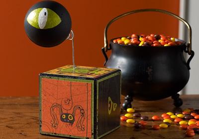 Halloween Eyeball Cube