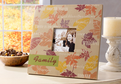 Fall Family Memories Frame
