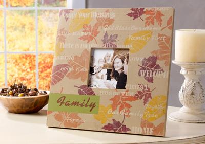 Fall Family Memories Frame