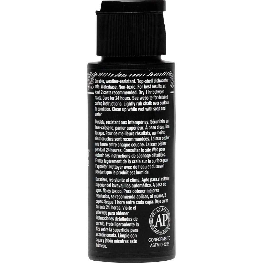 FolkArt ® Chalkboard Multi-Surface Paint - Black, 2 oz. - 2721
