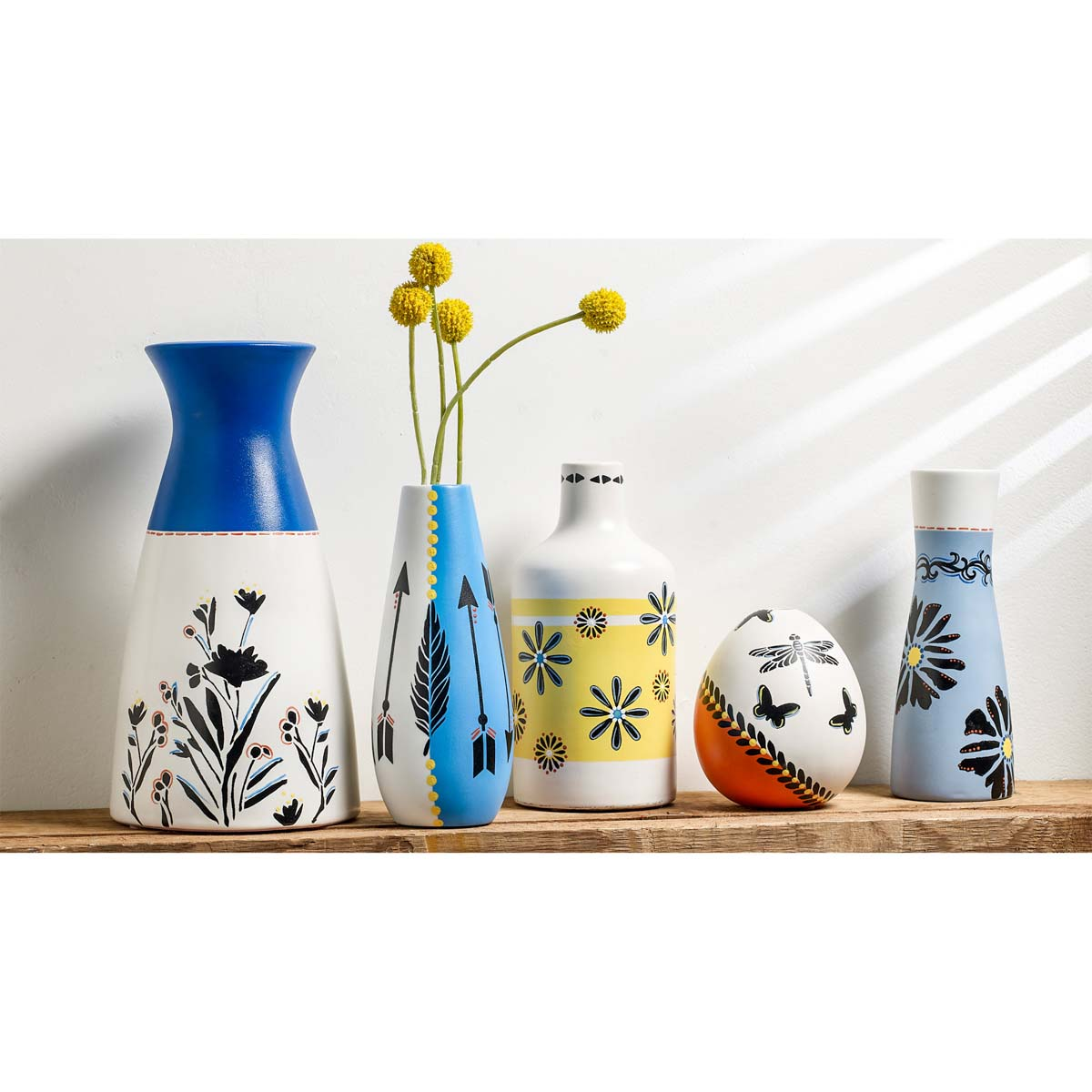 FolkArt PROMOGLS16 Glass Paint Set, 16 Colors - PROMOGLS16