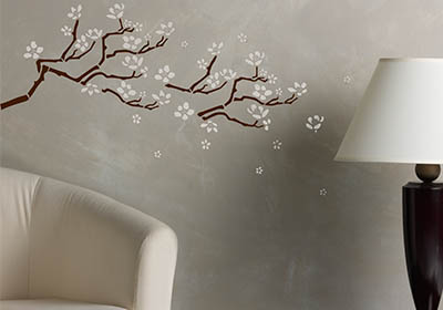 Cherry Branch Wall Decor