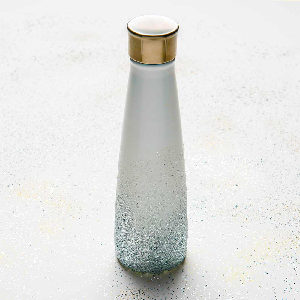 Glitter Water Bottle DIY