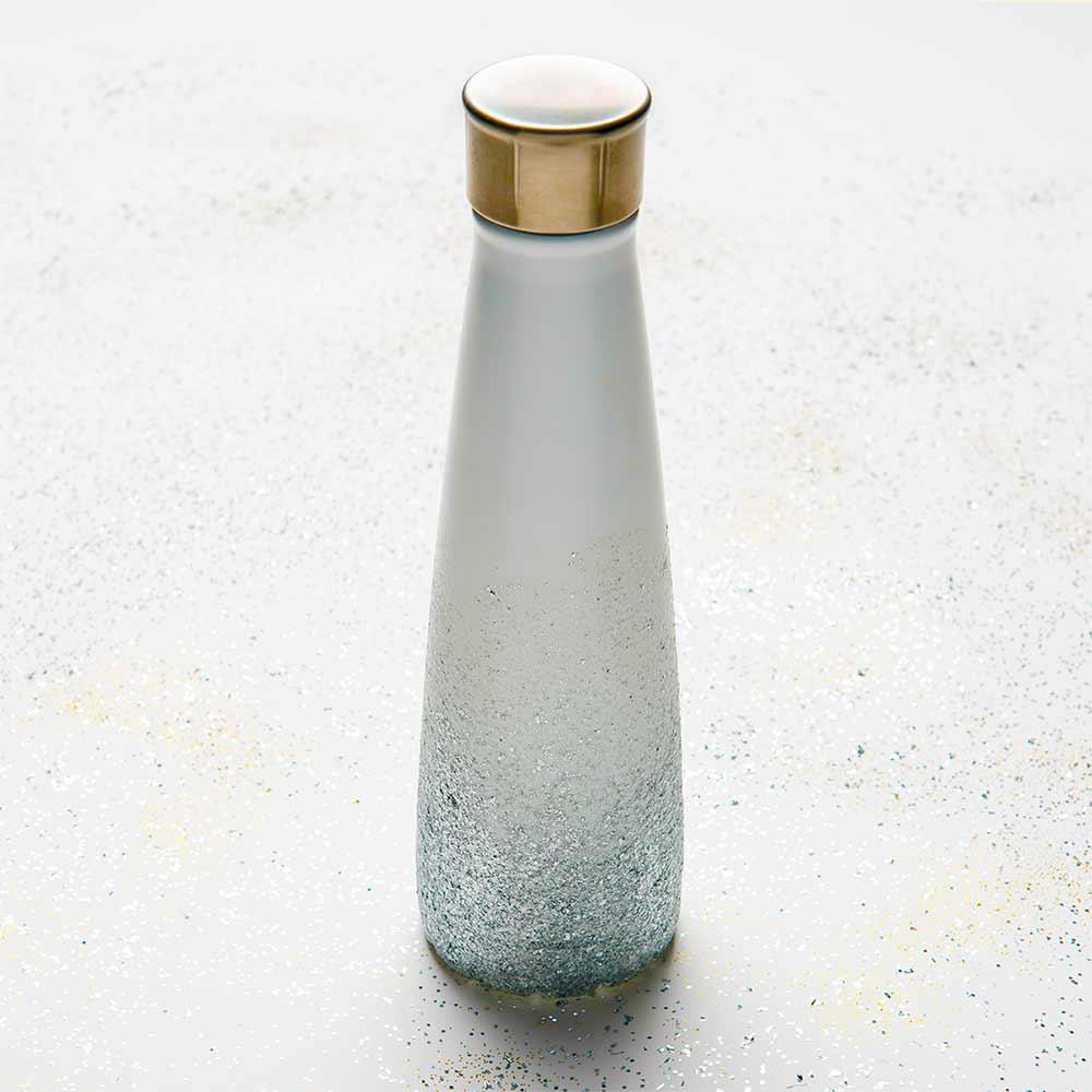 Glitter Water Bottle DIY