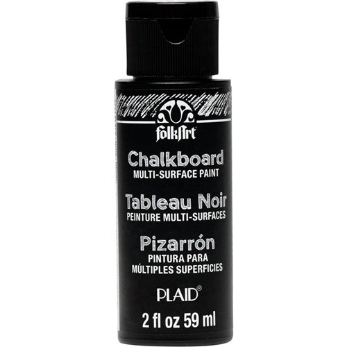 FolkArt ® Chalkboard Multi-Surface Paint - Black, 2 oz.